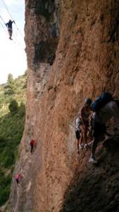Via Ferrata Echelle Pont de Singe