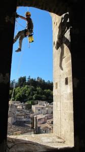 Référence Cordiste en Bâtiment : Intervention de nettoyage d'une Eglise