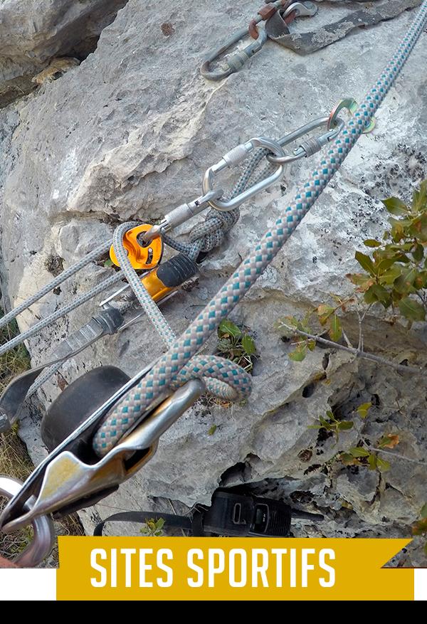 sites sportifs - Nature Verticale 04 - Travaux en hauteur et loisirs de pleine nature en Région PACA